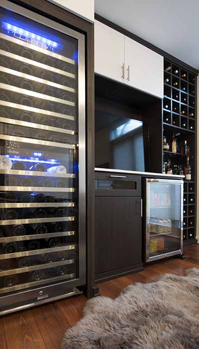 Commercial wine cooler