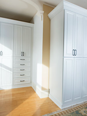 custom armoire design for a historic home