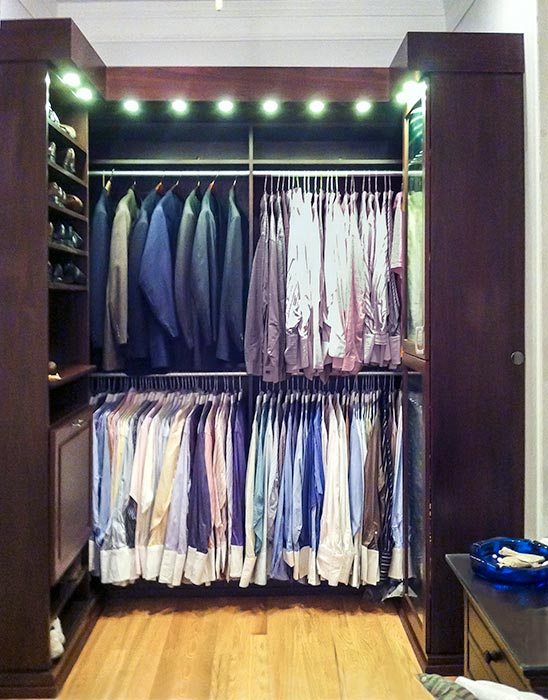 Beautiful Custom Closet That Is Meant To Be Seen