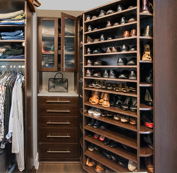 Ideas on how to increase closet space in a condo closet