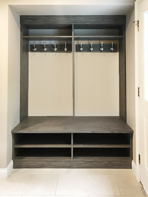 sunset cruise mudroom design