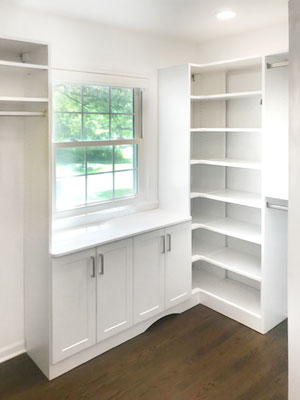 master walk in closet with window