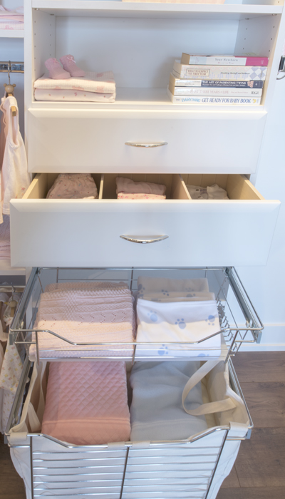 closet drawers in italia