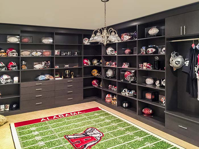 Man Cave Ideas Football : Football man caves the best cave