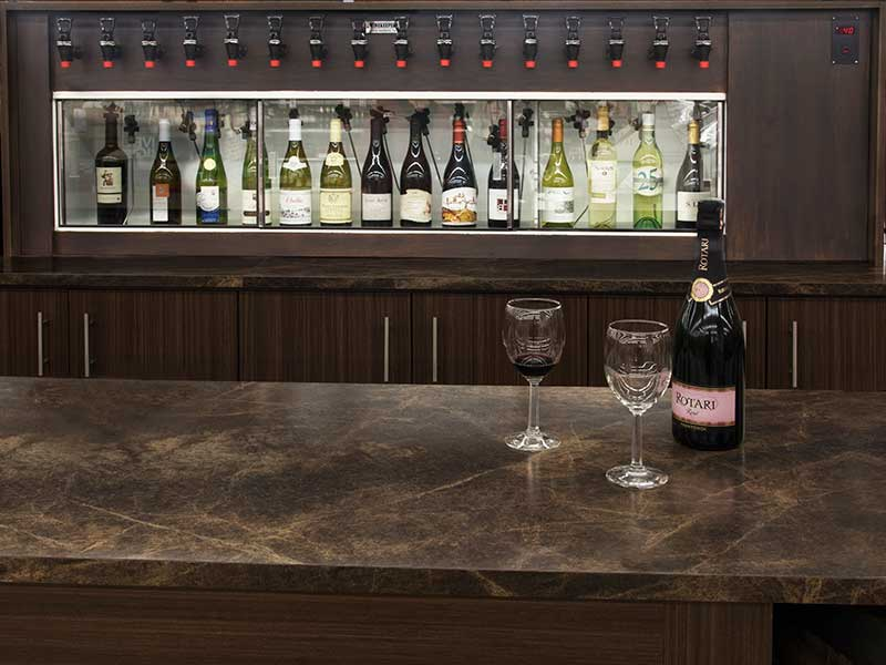 idea for home bar with cruvenit