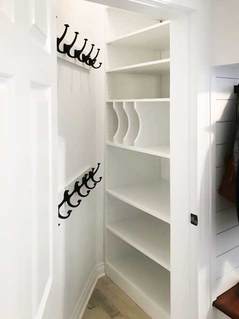 closet to pantry conversion