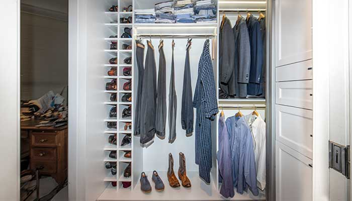 increase storage with closet organizers