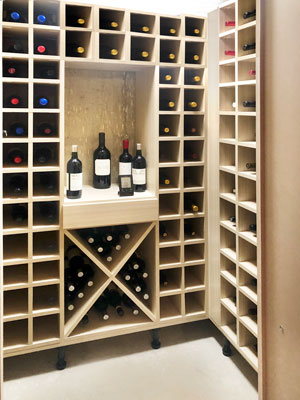wine cellar design in summer breeze