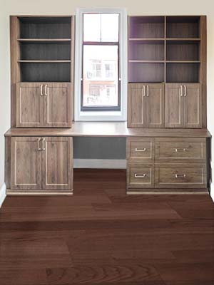 cocoa bean wall unit