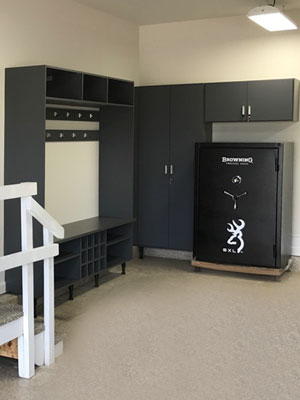 custom garage cabinets organization system