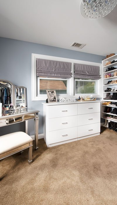 master walk in closet dressing room for her