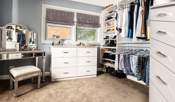 home renovation creates oppotunity for her walk in closet dressing room