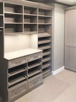 haze master walk-in closet for her
