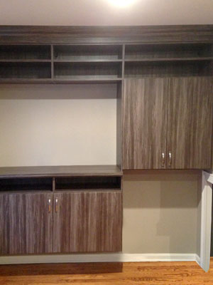 custom merapi living room wall unit