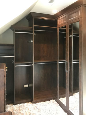 cocoa master walk in closet for slanted walls