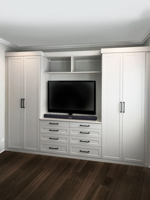 media wardrobe for bedroom storage