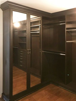 libretti walk in closet with mirror doors