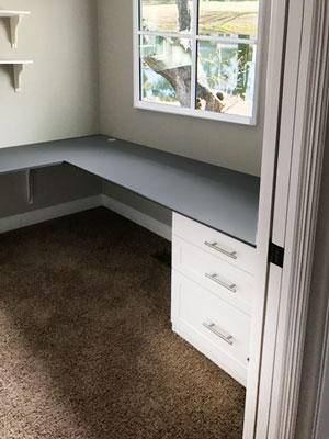 modern corner home office desk