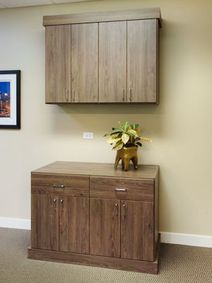 cocoa bean commercial office cabinets