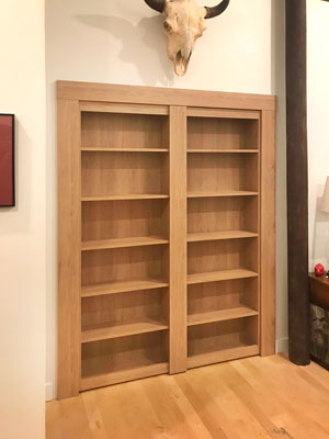 ginger root murphy doors secret bookcase