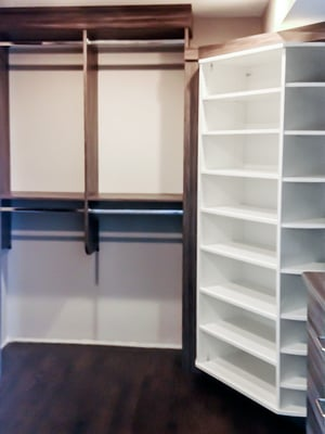 freestanding closets design with 360