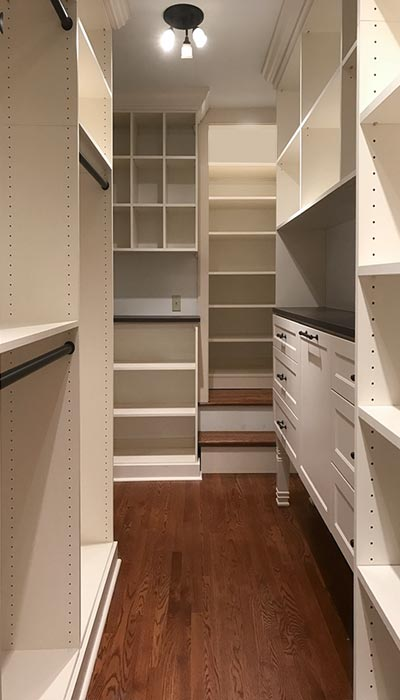 Walk In Wardrobe Ideas For Long And Narrow Closet