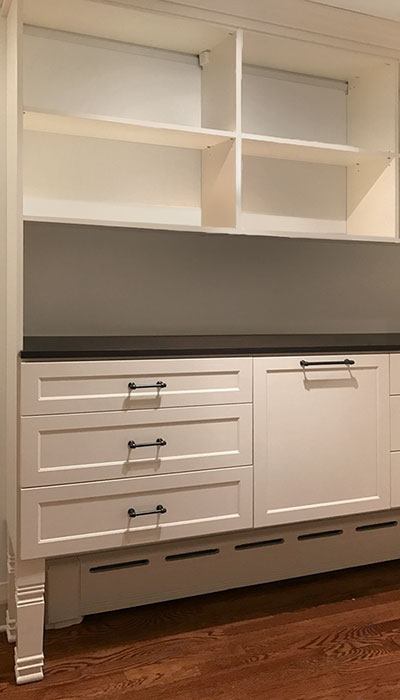 custom walk in closet drawer fronts in regal