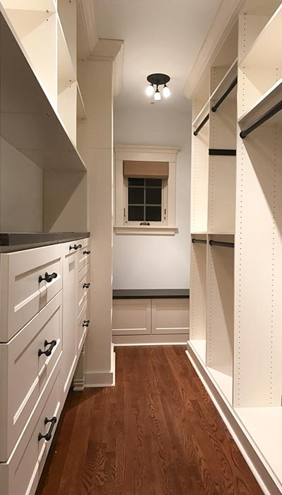 Narrow Closet Ideas For Historic Building Needing Narrow