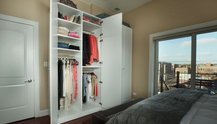 bedroom cabinetry closets solutions for a variety of belongings