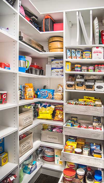 walk in pantry organization ideas