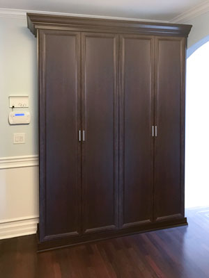 elegant custom pantry and utility closet design