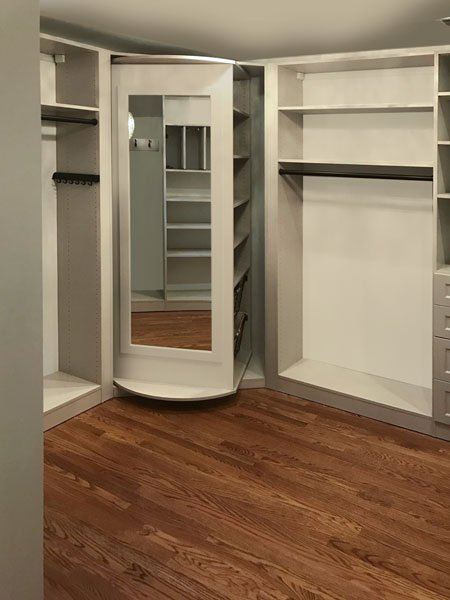 custom master walk in closets