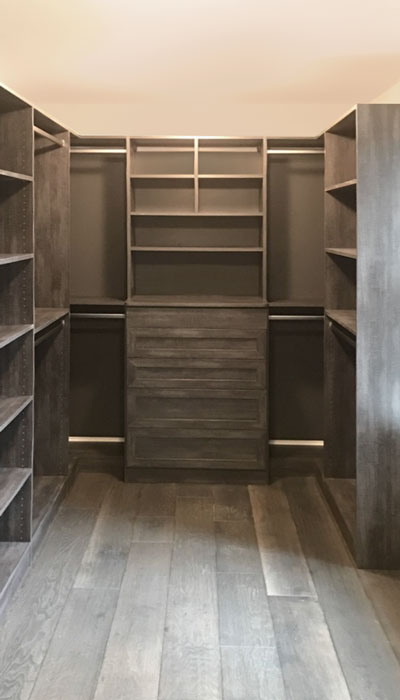 custom closet drawer fronts in bella