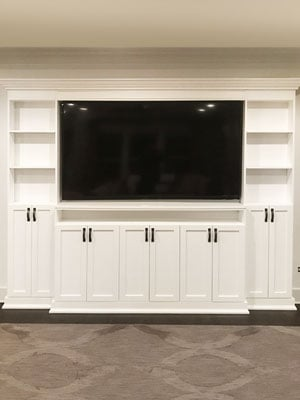white maple core media center