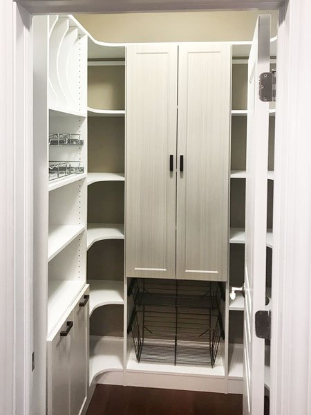 Small Pantry Design Walk In Pantry Organization To