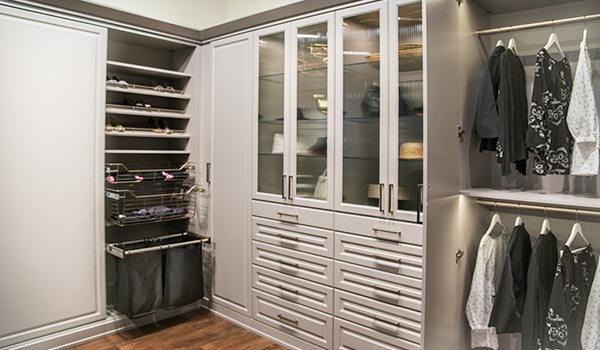 Great Custom Wardrobe Closet In Painted MDF For Custom Wardrobes