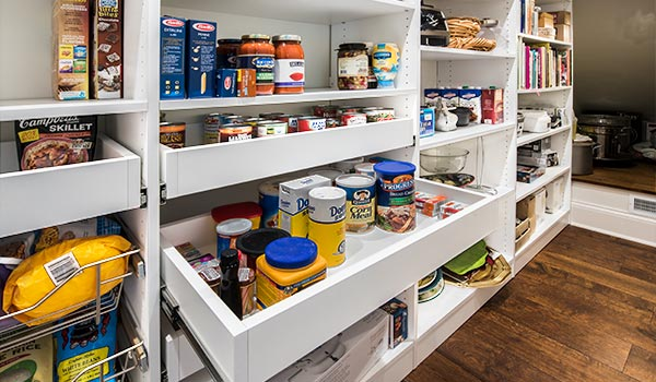 Custom Pantry Organizer Systems with Pantry Shelving and ...