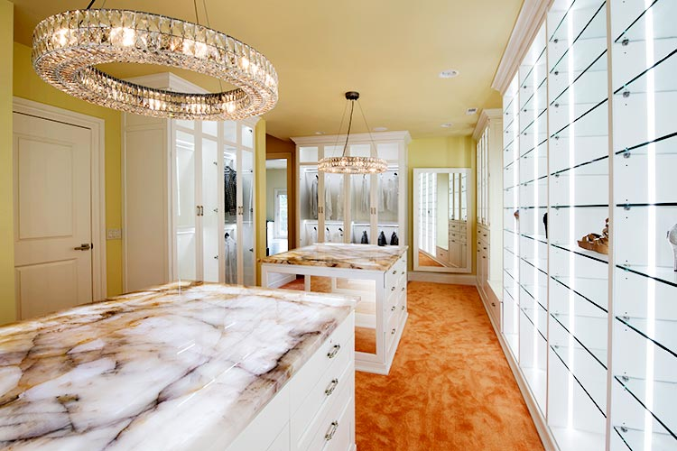 Walk In Led Closet Lighting With Custom Closet Lighting Options