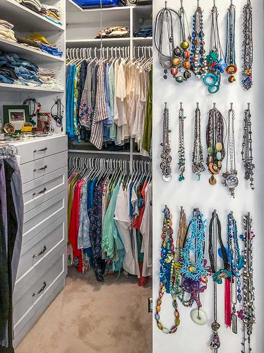 New custom closet with a place for everything