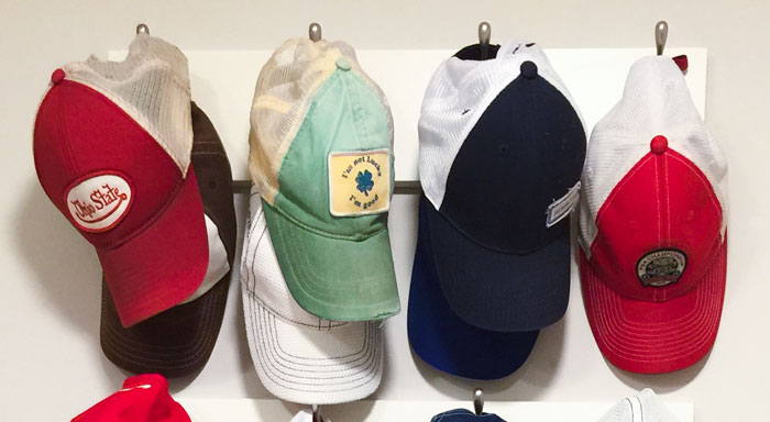 Awesome Closet Hat Rack