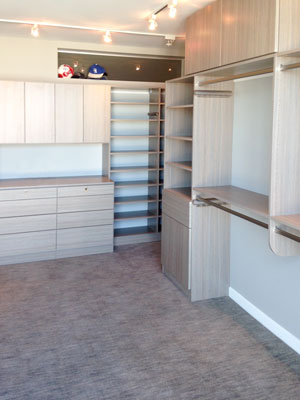 walk-in in aria laminate