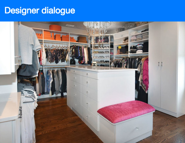 Closets Magazine interviews closet design expert Sue Tinker of Closet Works