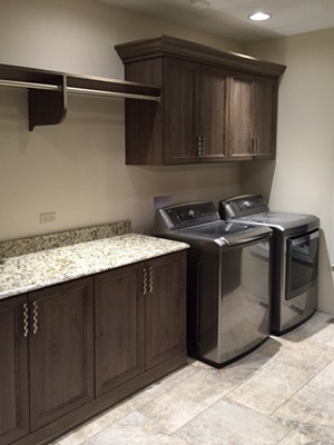custom spacious laundry room