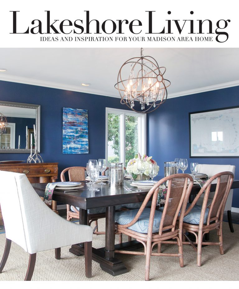 Lakeshore Living Magazine interviews closet design expert Sue Tinker of Closet Works