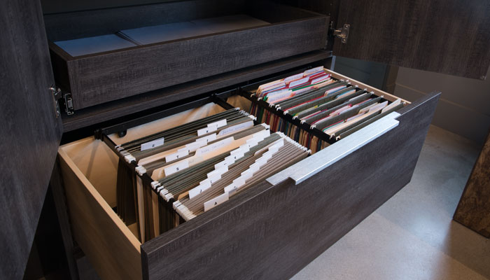 custom file drawer for office cabinets