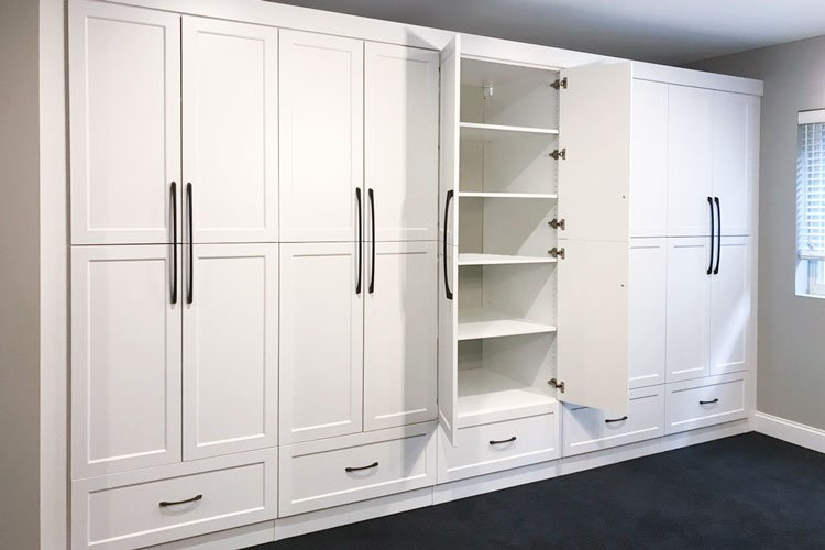 Closet With Handles At Correct
