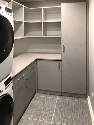 frequency TFL laundry room cabinets