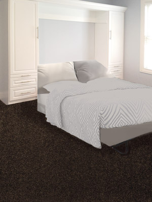 white laminate murphy style wall bed