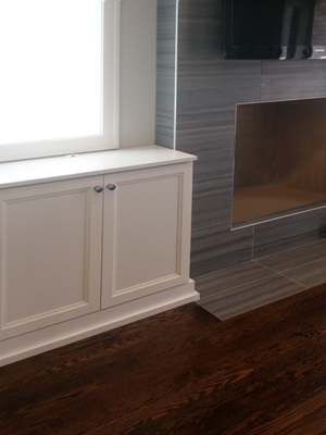 custom wall unit cabinet system