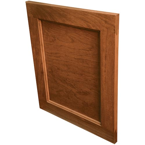 Lowland solid wood door for cabinets or drawers